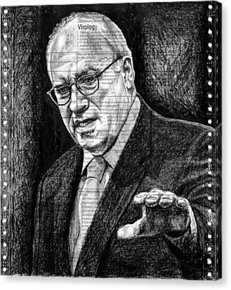 Cheney Canvas Print by Mark Zelmer