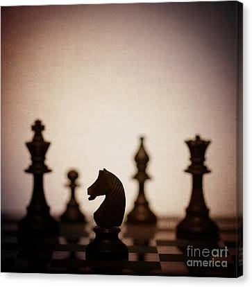 Chess Canvas Print by Amanda Elwell