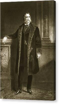 Chester A. Arthur Canvas Print by Daniel Huntington