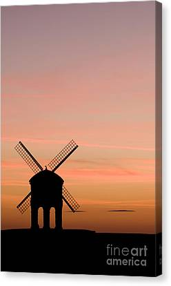 Chesterton Windmill Canvas Print by Anne Gilbert