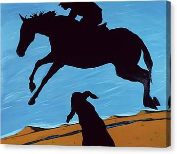 Chestertown Trials, 1999 Canvas Print by Marjorie Weiss