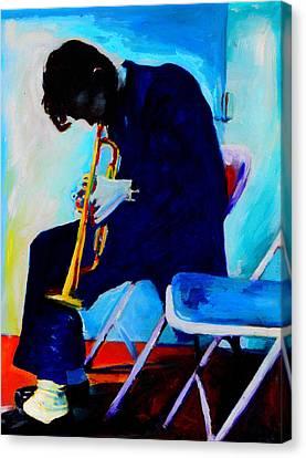 Chet Baker Canvas Print by Vel Verrept