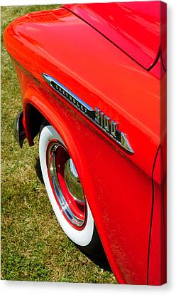 Chevrolet 3100 Truck Canvas Print by Phil 'motography' Clark