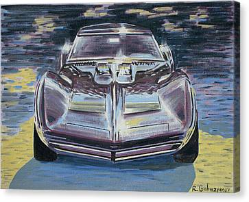 Chevrolet Corvette Canvas Print by Rimzil Galimzyanov