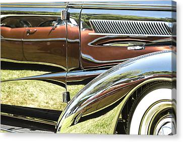 Chevrolet Reflections Canvas Print by Studio Janney