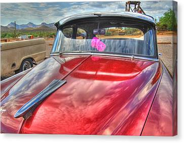 Chevy Classic Canvas Print by Tam Ryan