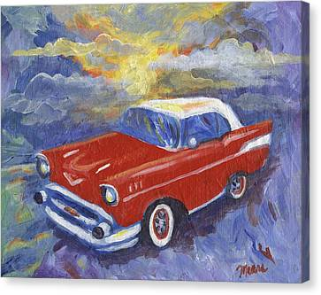 Chevy Dreams Canvas Print by Linda Mears