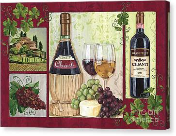 Chianti And Friends 2 Canvas Print by Debbie DeWitt