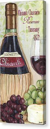 Chianti Classico Canvas Print by Debbie DeWitt