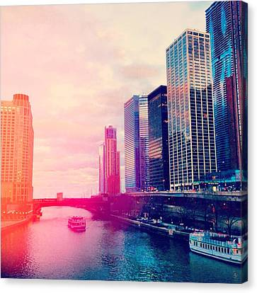 Chicago #1 Canvas Print by Stacia Blase