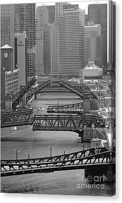 Chicago Architectural Photography Canvas Print by Horsch Gallery