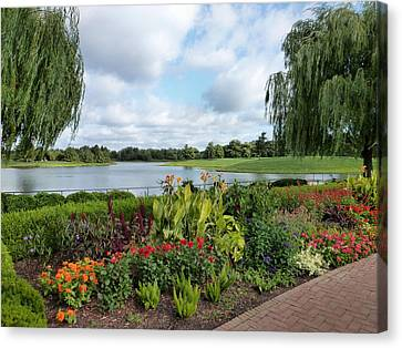 Chicago Botanical Gardens - 95 Canvas Print by Ely Arsha