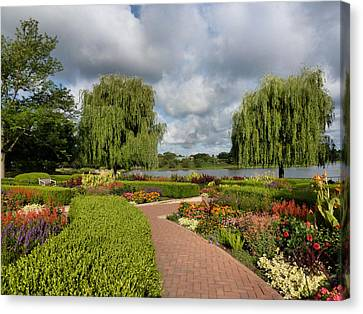 Chicago Botanical Gardens - 97 Canvas Print by Ely Arsha