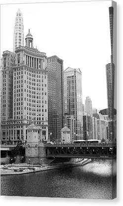 Chicago Downtown 2 Canvas Print by Bruce Bley