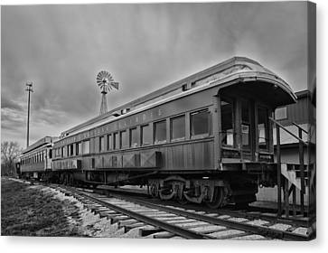 Chicago Eastern Illinois Rr Car Canvas Print by Thomas Woolworth