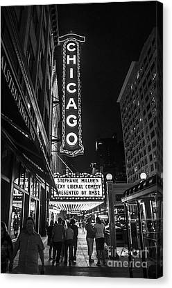Chicago Nights Canvas Print by Terry Rowe