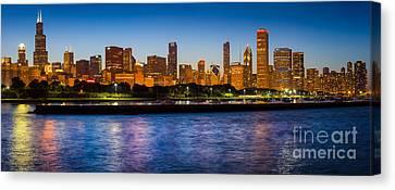 Chicago Skyline Canvas Print by Inge Johnsson