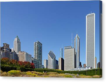 Chicago - What A Beautiful City Canvas Print by Christine Till
