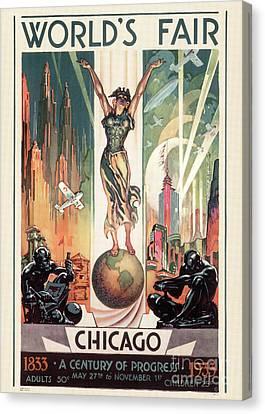Chicago World's Fair 1933 Canvas Print by Granger