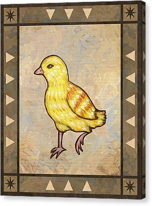Chick Two Canvas Print by Linda Mears