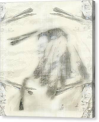 Chief Dreams Canvas Print by Mayhem Mediums