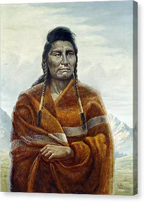 Chief Joseph Canvas Print by Gregory Perillo