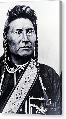 Chief Joseph Nez Perce Leader Canvas Print by NPS Photo