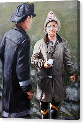 Chief Walsh Canvas Print by Paul Walsh