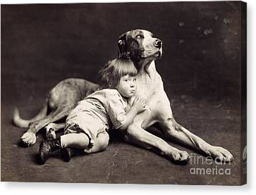 Child C1900 Canvas Print by Granger