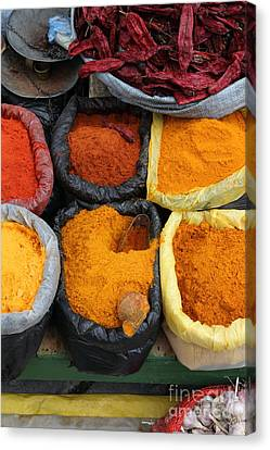 Chilli Powders 3 Canvas Print by James Brunker