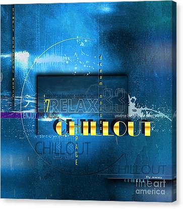 Chillout Canvas Print by Franziskus Pfleghart