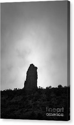 Chimney Rock IIi Canvas Print by Dave Gordon