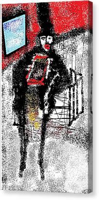 Chimney Sweeper Canvas Print by Ruth Clotworthy