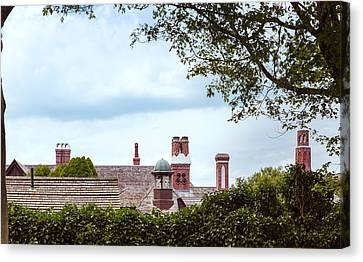 Chimneys Canvas Print by John M Bailey