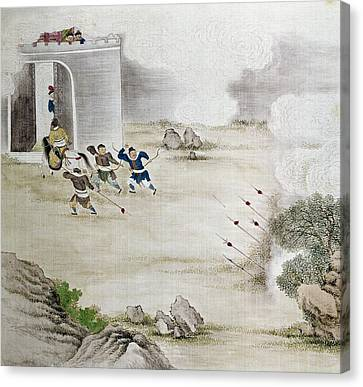 China Archers, C1820 Canvas Print by Granger