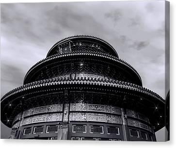 China Pavilion Canvas Print by Lourry Legarde