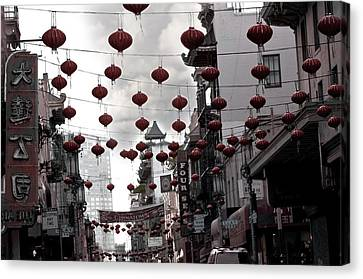 Chinatown Canvas Print by Larry Butterworth