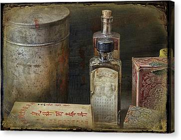 Chinese Medicinals Canvas Print by Ed Hall