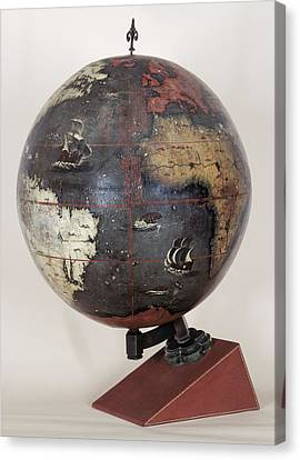 Chinese Terrestrial Globe Canvas Print by British Library