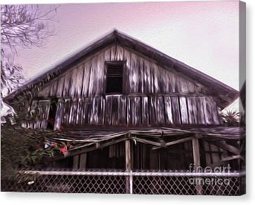Chino Haunted Barn Canvas Print by Gregory Dyer