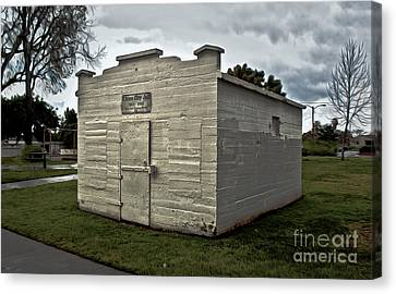 Chino Jail - 02 Canvas Print by Gregory Dyer