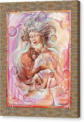Chiron Canvas Print by Blaze Warrender