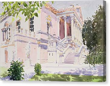 Chiswick House Canvas Print by Lucy Willis