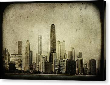 Chitown Canvas Print by Andrew Paranavitana