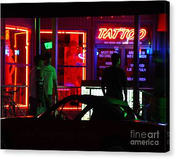 Choices After Midnight Canvas Print by Peter Piatt
