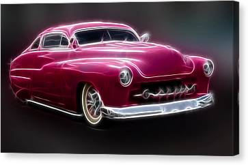Chopped 50 Merc Canvas Print by Steve McKinzie