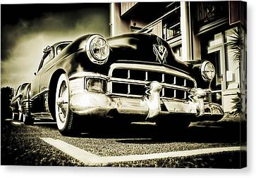 Chopped Cadillac Coupe Canvas Print by motography aka Phil Clark