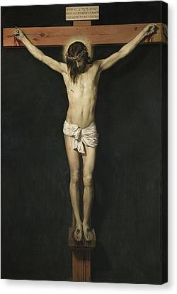 Christ Crucified Canvas Print by Diego Rodriguez de Silva Velazquez