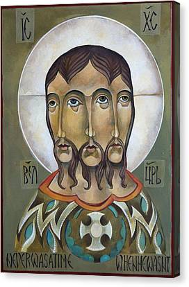 Christ Eternal Canvas Print by Mary Jane Miller