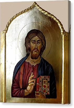 Christ Pantocrator Canvas Print by Filip Mihail